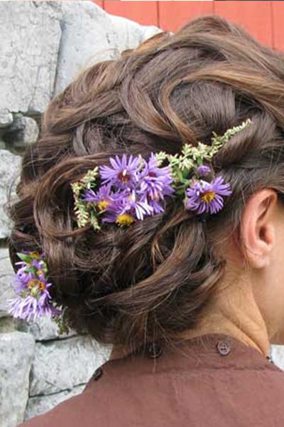 Coralee Wedding Hair