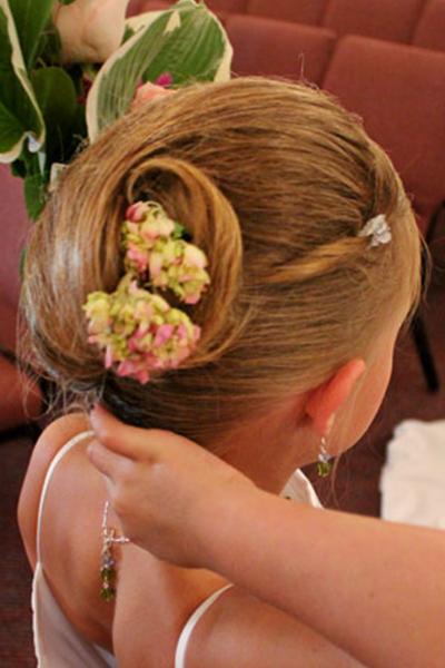 Cory Boardman Wedding Hair